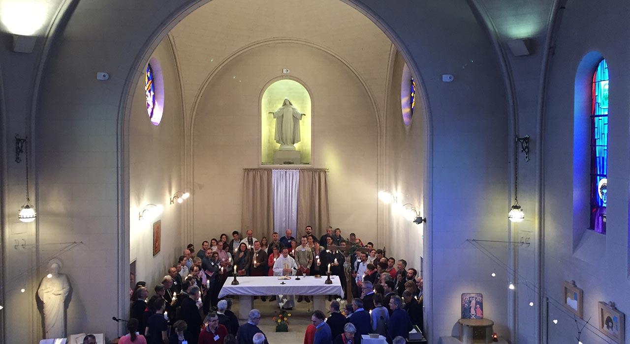 Chapelle à Massabielle